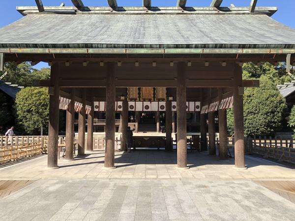 宮崎神宮 参拝所