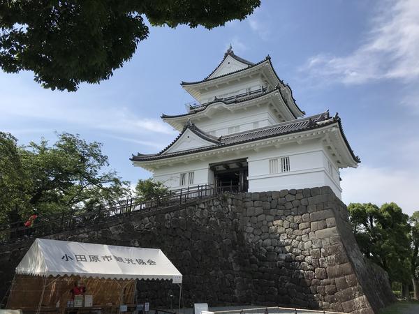 小田原城 で〜んw