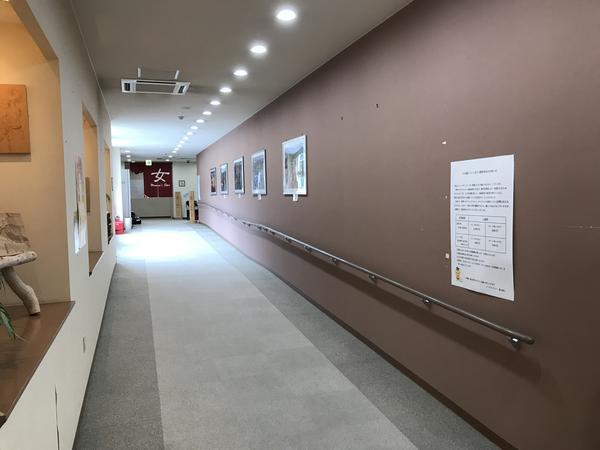 長い廊下も有ります♪