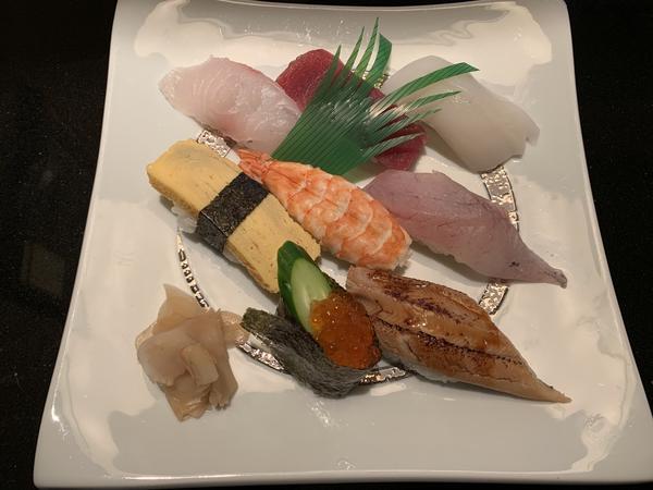 膳のにぎり寿司 ¥1,350