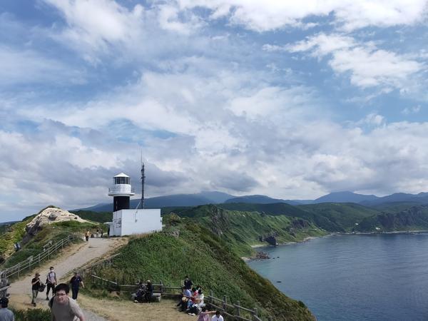 岬の端から