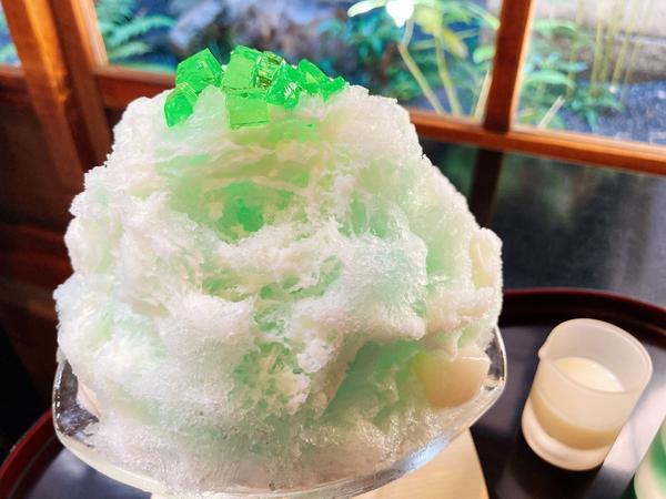 🍧「ミルクミントかき氷」