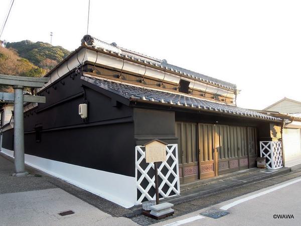 蒲原宿 東海道沿の伝統建築