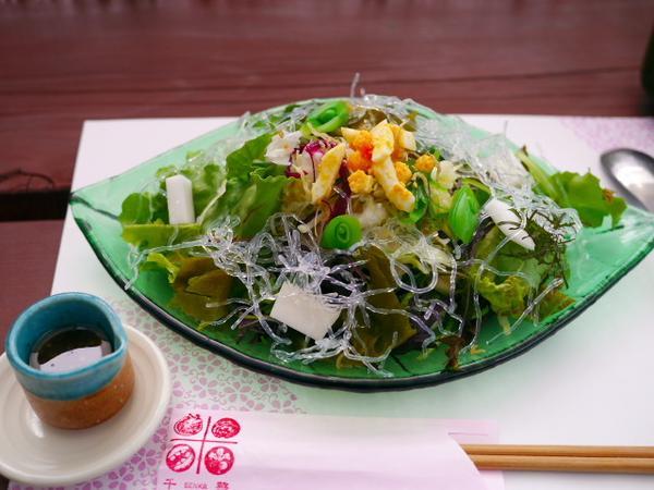 野菜がすごく美味しい
