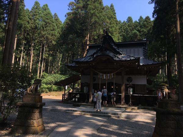 本殿(御岩神社)