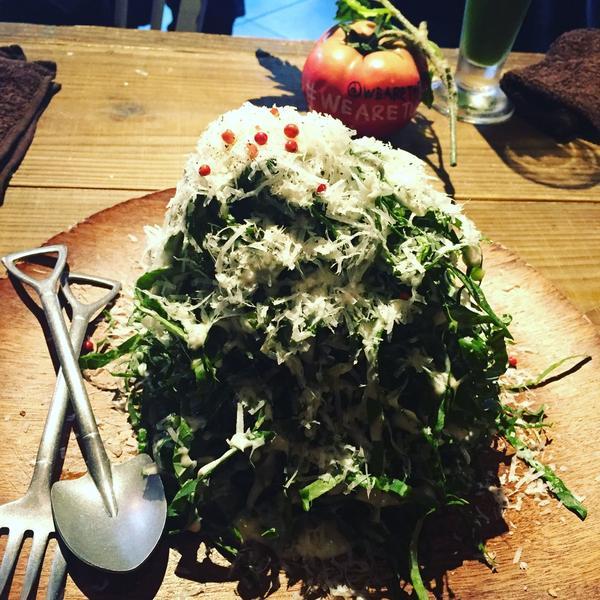 ケール山盛りサラダ