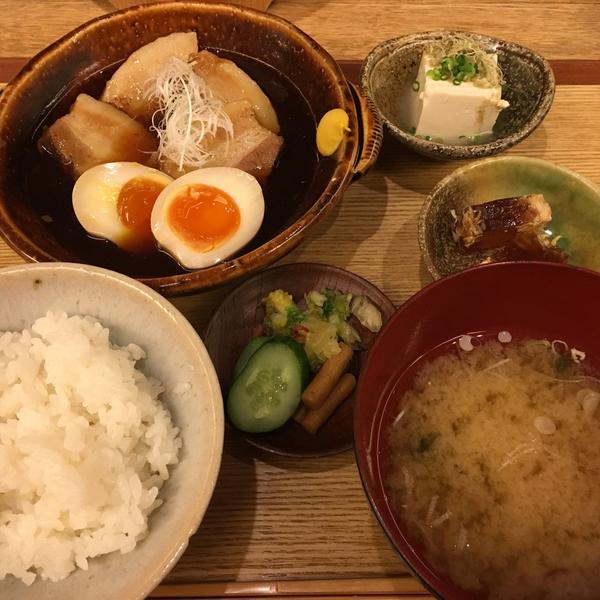 豚の角煮 半熟玉子添え ¥1,200