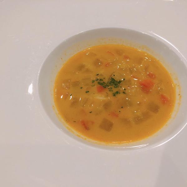 浅利のカレー風スープ