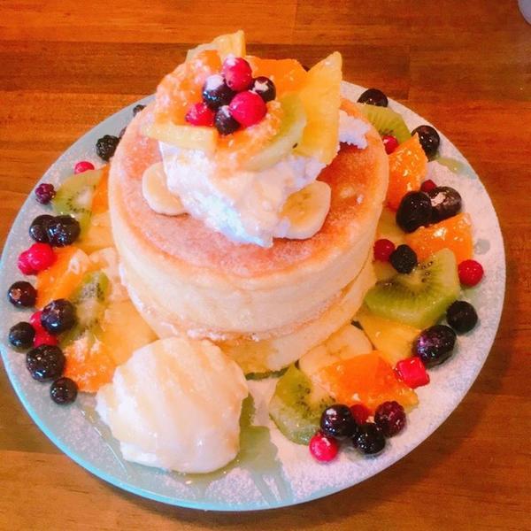 季節のパンケーキも人気!