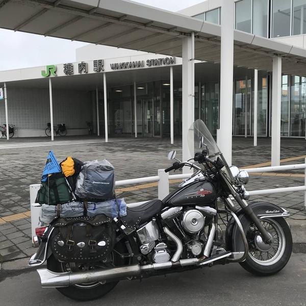 最北の駅 JR稚内駅