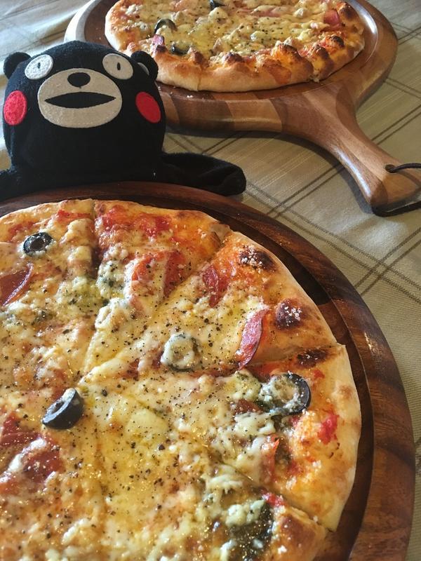 6種類のピザが選べます♫