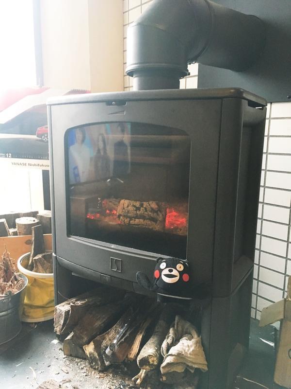 暖炉があるモン☆