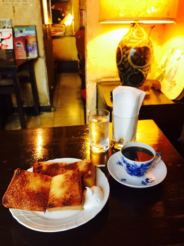 コーヒーのお供にトーストもぜひ♡