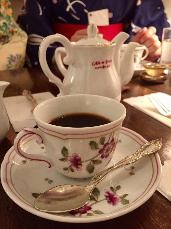 深みのある味のコーヒーが美味しい!