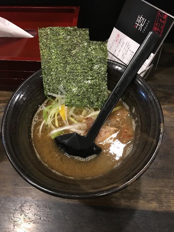 細麺ラーメン(小盛り)