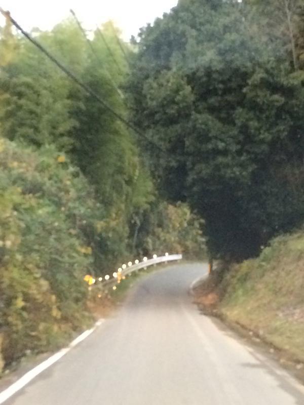 岩舟寺への道のり