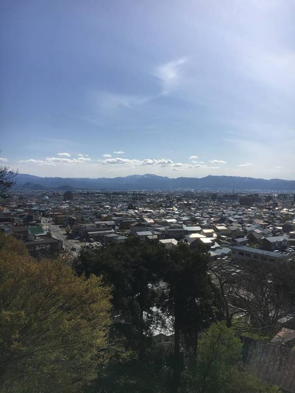 飯盛山からの展望