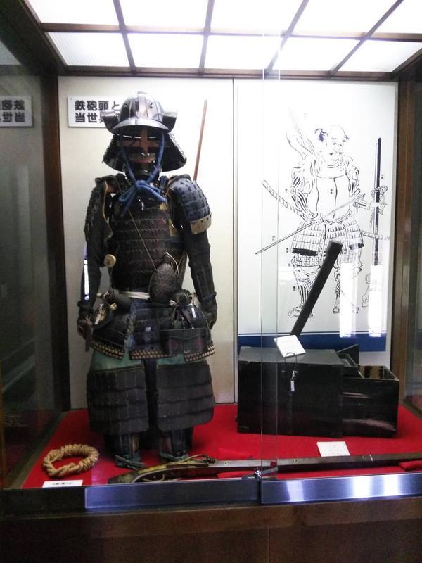 鉄砲隊の鎧