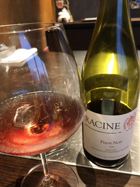 ピノ 赤ワイン ジンジャー割り