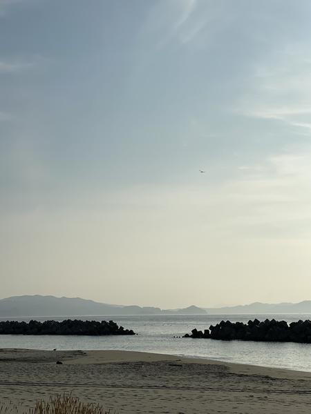 朝は瀬戸内海沿岸を散歩🚶♂️🚶♀️