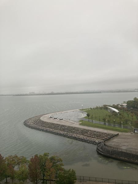 天気が悪い、、
