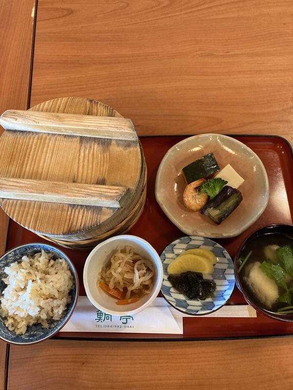 鯛飯(980円)