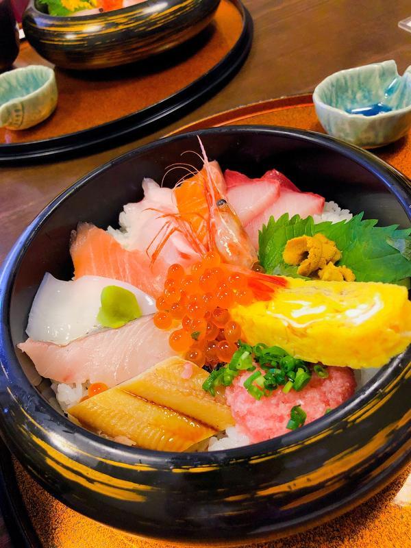 海鮮丼のアップver