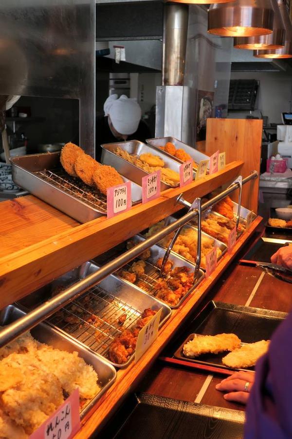 フライ天ぷら類も豊富