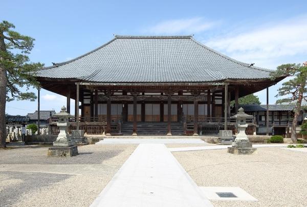 お寺密集地帯(写真は陽願寺)