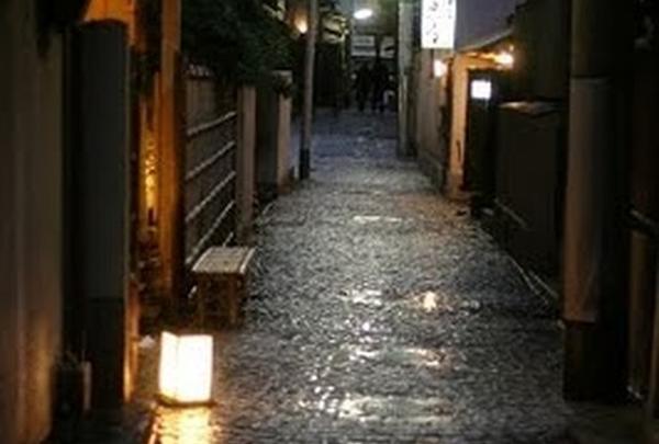 夜の神楽坂