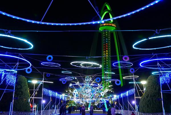 木曽三川公園 138タワーパークイルミネーション
