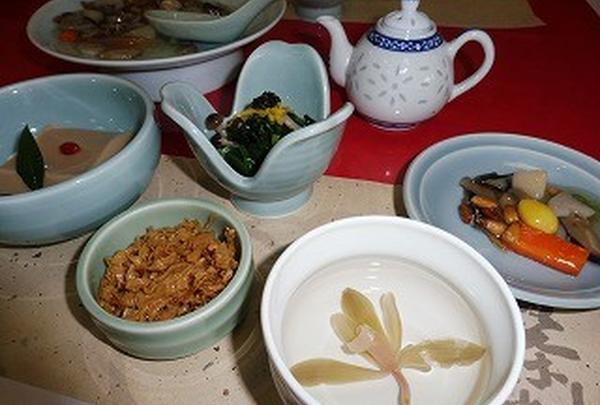 普茶料理コース