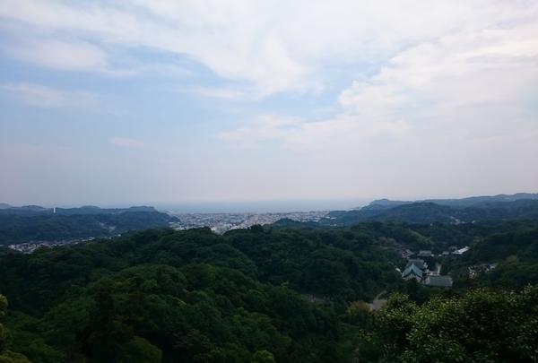 半僧坊からの眺めは絶景。