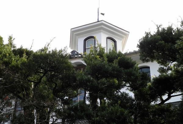 修善寺のもうひとつのシンボル、登録文化財「青州楼」