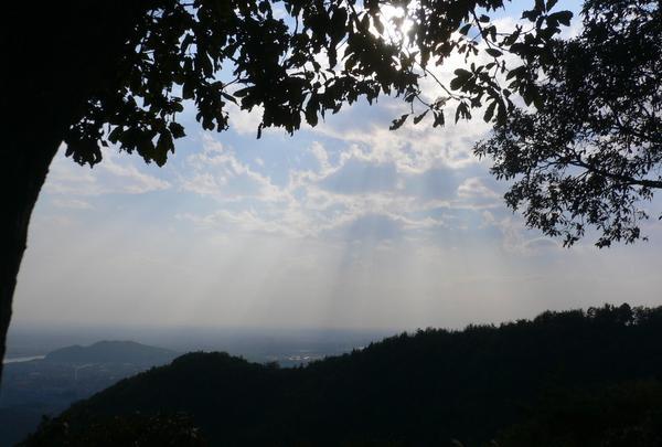 明王山 展望台