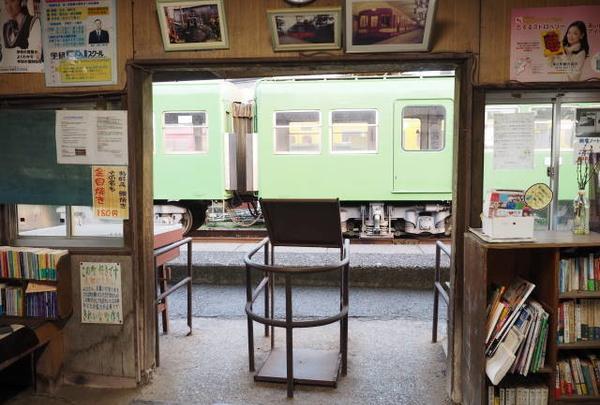 駅舎の中には夢がいっぱい!