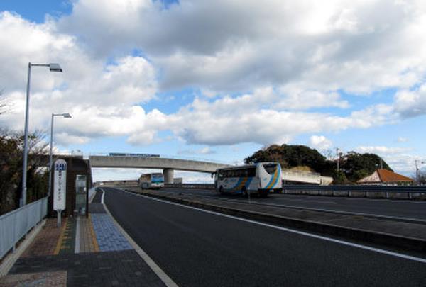 (参考)神戸淡路鳴門自動車道 高速バス 淡路ICバス停