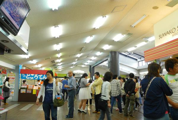 中央自動車道 諏訪湖サービスエリア(下り線)の写真・動画_image_29960