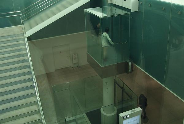 油圧式エレベータ