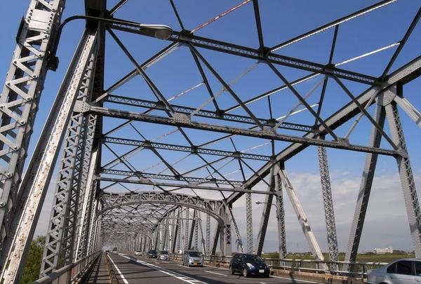 旧21号線の長良大橋