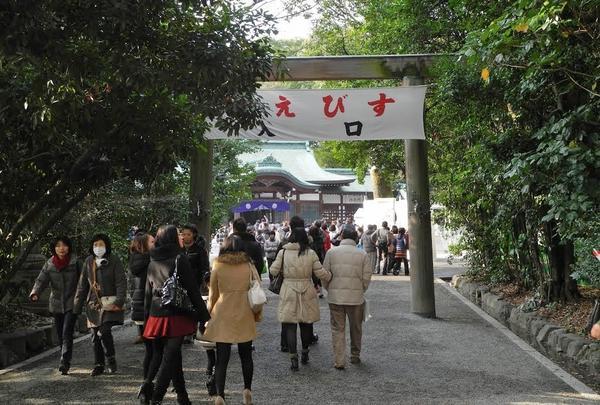 上知我麻神社(えびすさん)