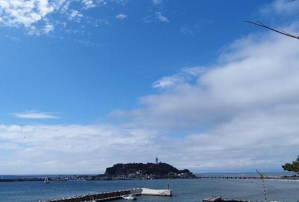 江ノ島が見える~♪