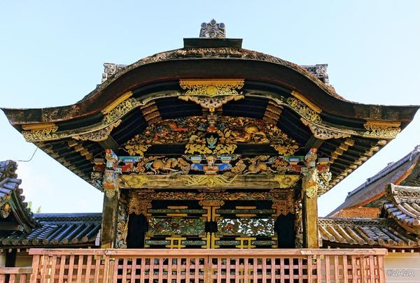 国宝 唐門 西本願寺