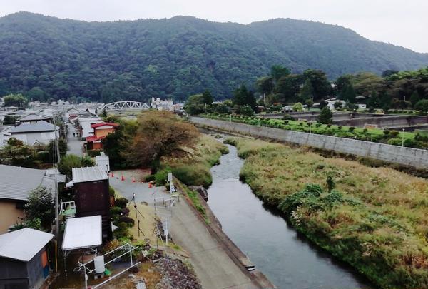愛川大橋からの眺め