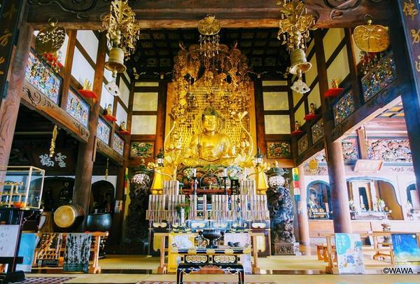本堂 九品仏 浄真寺