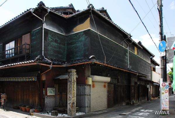 熊野古道道標 和歌山県湯浅町