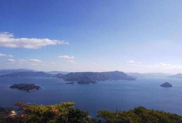青い海と島々(^○^)
