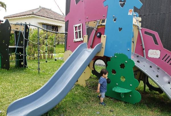 子供の遊び場もあり