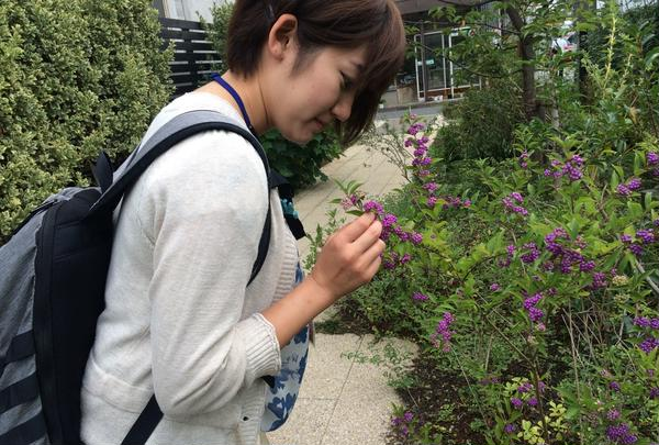 季節のお花が楽しめます♪