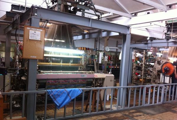 現在使用されている織り機